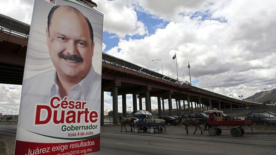 Since fleeing Mexico, Mr Duarte had been spotted in a number of US locations