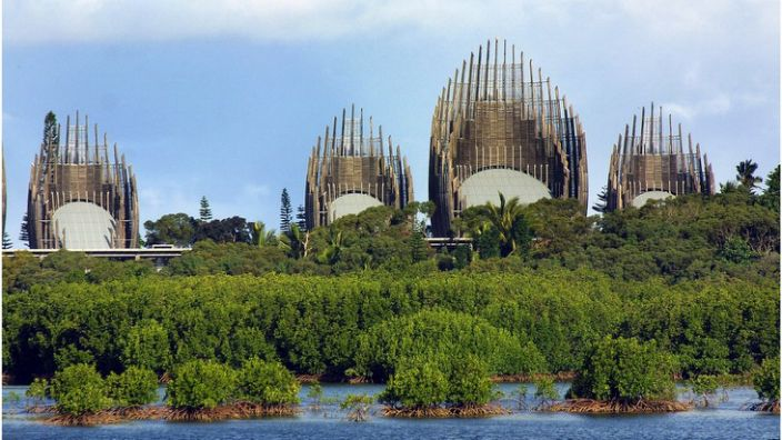 The cultural centre in Noumea, capital of New Caledonia